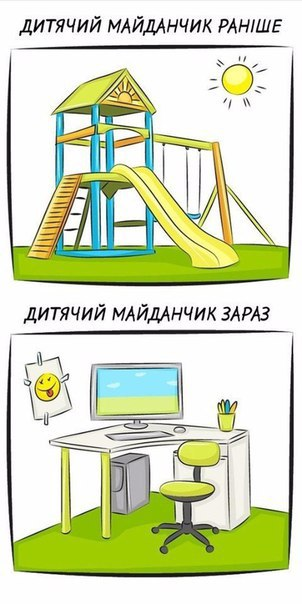 Жизнь раньше и сейчас
