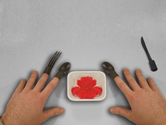 Креативные столовые приборы