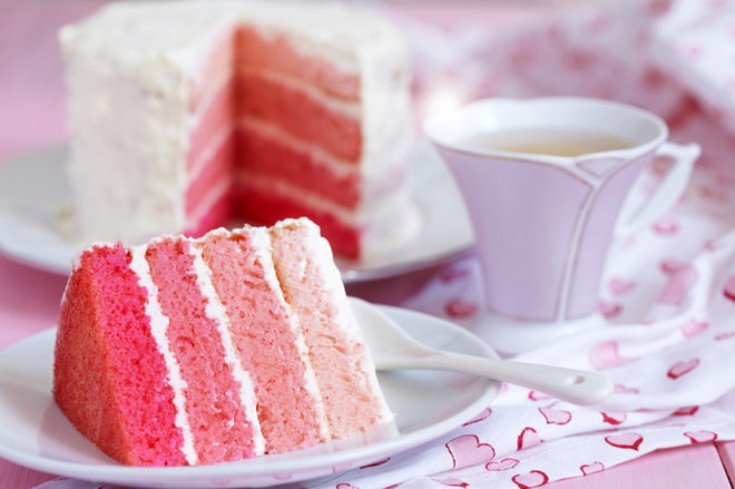 Торт на День святого Валентина своими руками