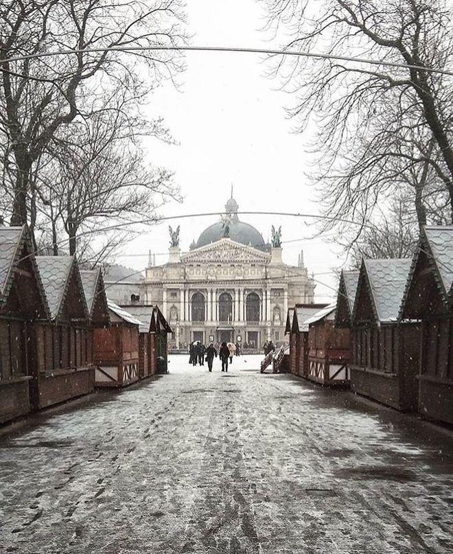 Новогодние праздники 2018 во Львове