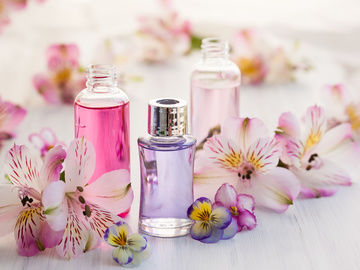 Цветочный парфюм на весну