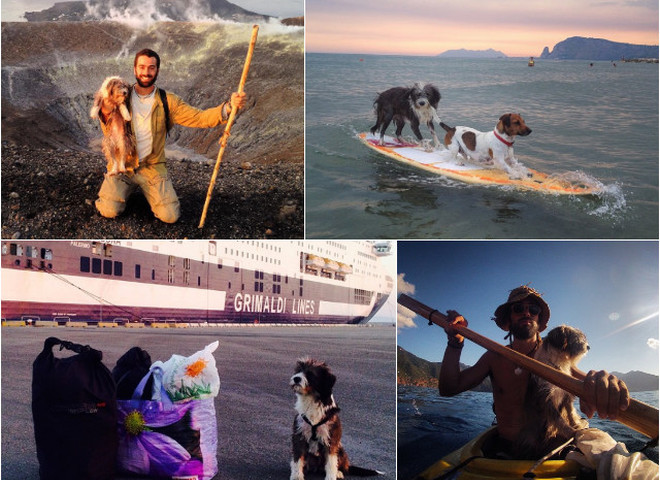 Бросить душный офис и отправиться путешествовать на каяке с собакой