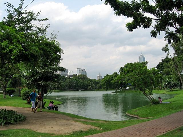 Достопримечательности Бангкока: парк Люмпини
