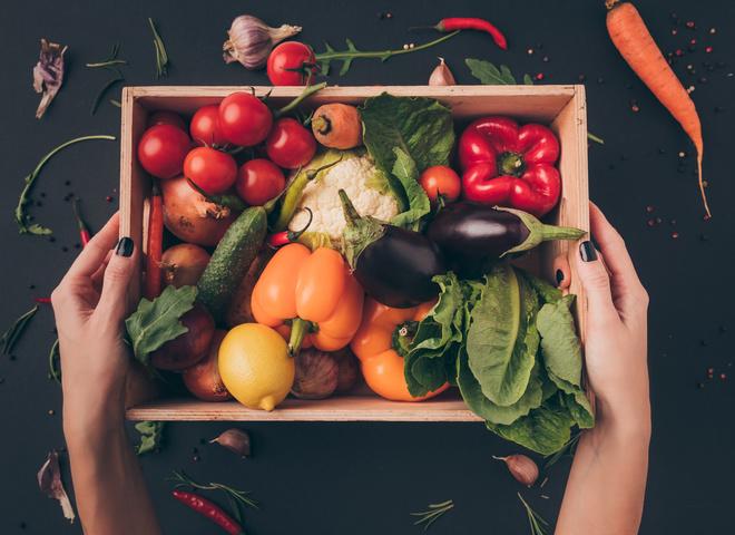 Таблиця калорійності овочів