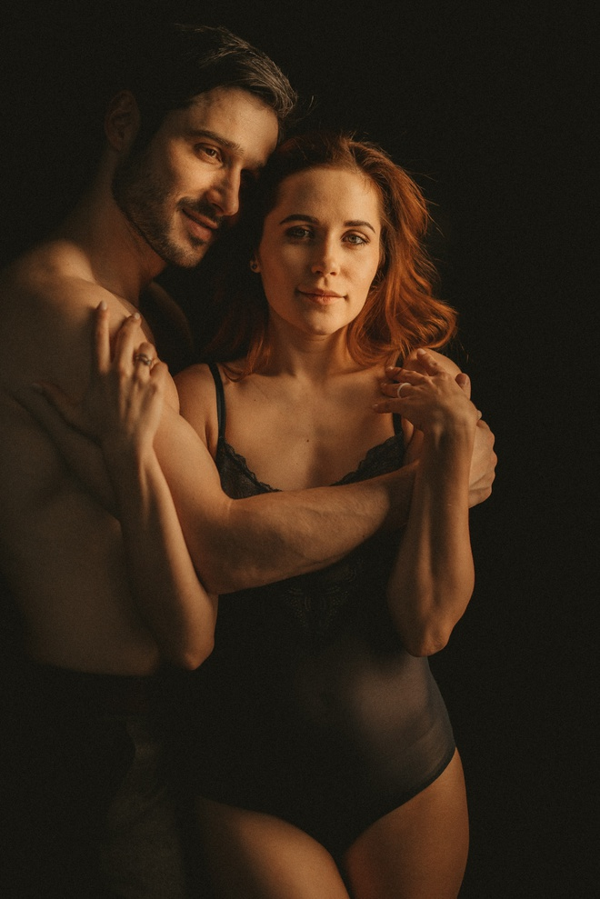 Наталка Денисенко с мужем