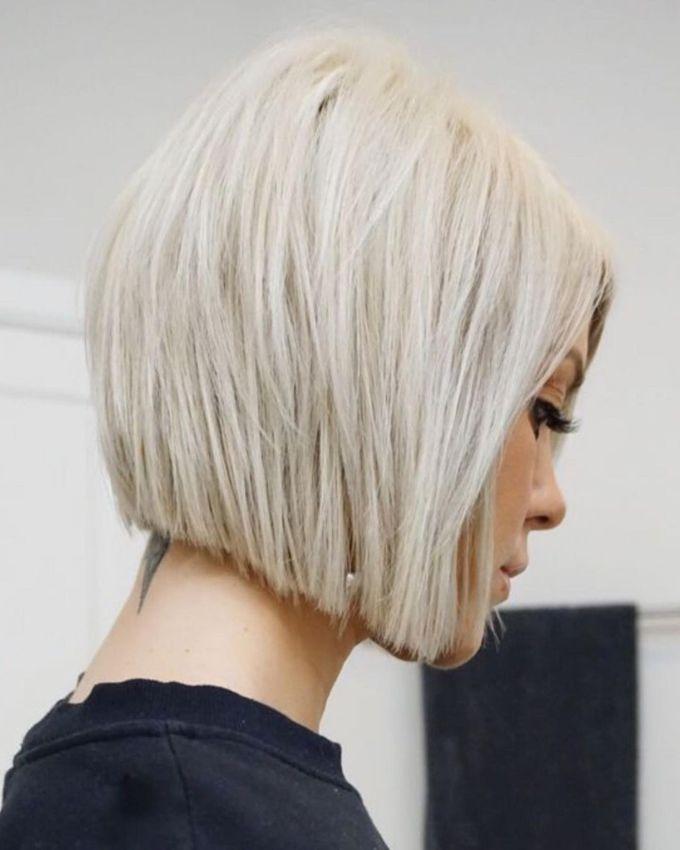 Асиметричний боб - модна стрижка 2021
