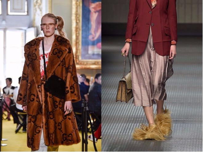 Gucci отказываются от натурального меха