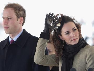 Кейт Мидлтон посетила могилу принцессы Дианы