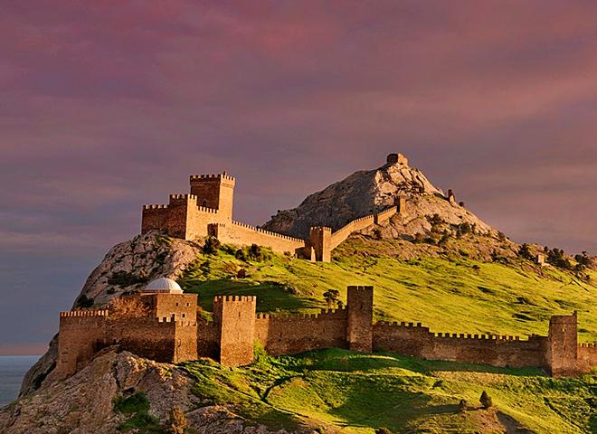 Україна історична - Генуезька фортеця