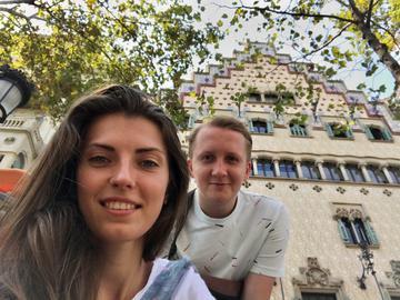 Діма Андрієнко з дівчиною