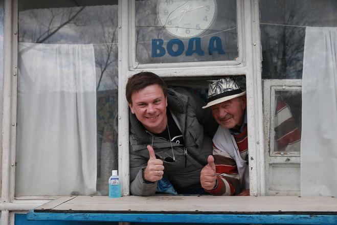 Дмитрий Комаров и Иван Васильевич Крамар