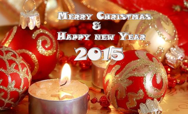 С Новым годом и Рождеством 2015