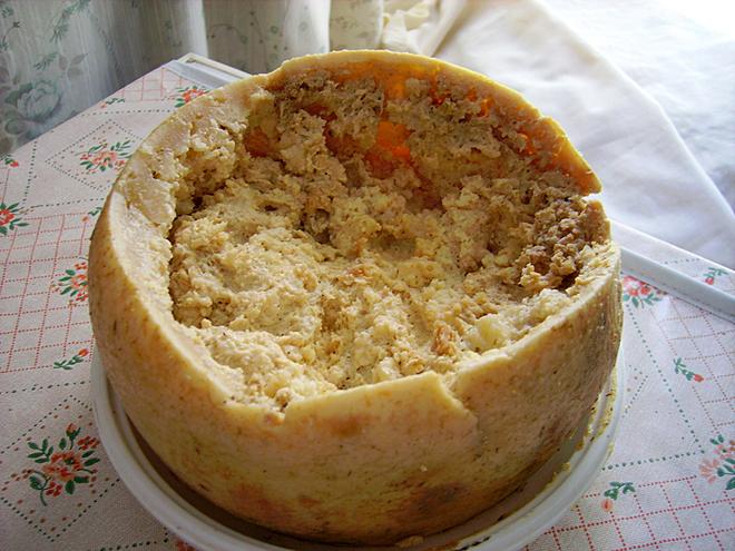 Самое невкусное блюдо - Касу Марцу