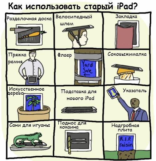 Как использовать старый iPad
