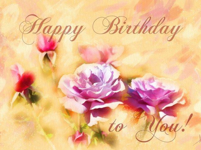 Поздравление с днем рождения девушке на английском с переводом