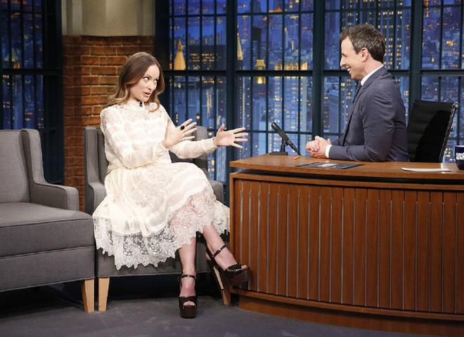 Олівія Уайлд у сукні H&M