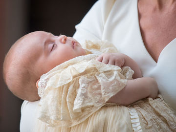 крещение принца Луи