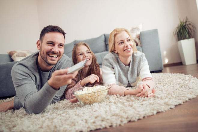 Семейный просмотр фильма