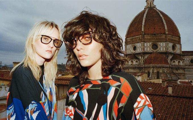 Emilio Pucci зняли рекламну кампанію на даху палацу