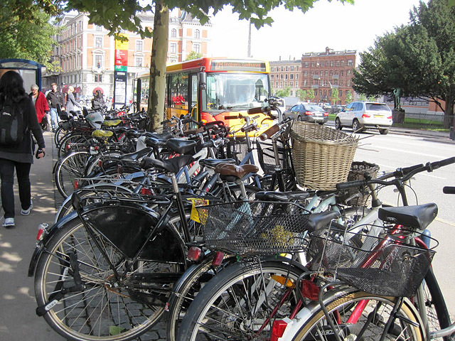 Где рай для велосипедистов: Копенгаген