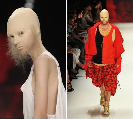 Самые необычные показы моды