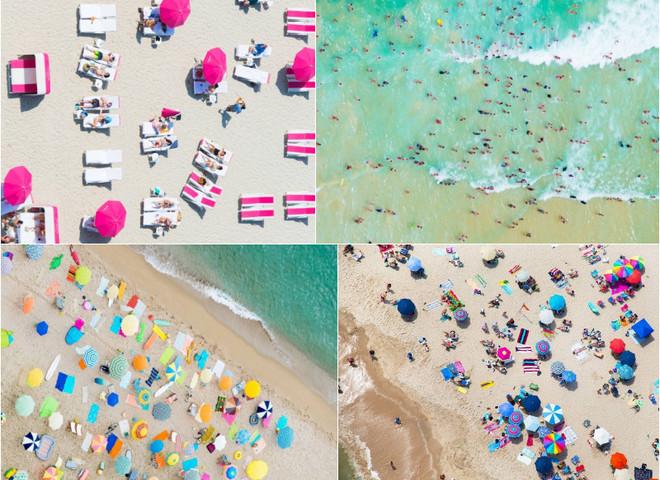 Аерофотознімки: найпопулярніші серед туристів пляжі з висоти пташиного польоту