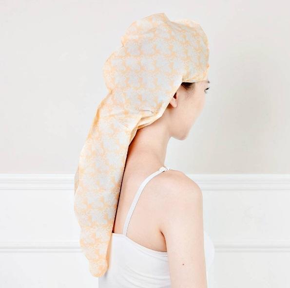 Бумажная маска для волос