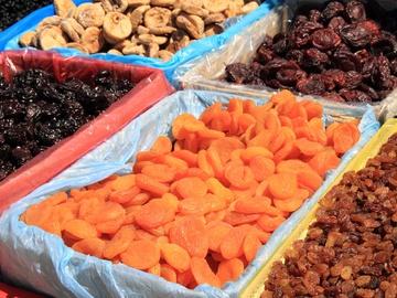 Сухофрукти - найбезпечніші солодощі для фігури