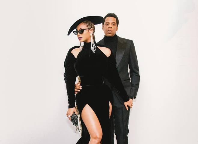 Бейонсе и Джей Зи сняли совместный клип в Лувре
