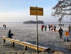 Каток посреди озера: Paterswoldse Meer