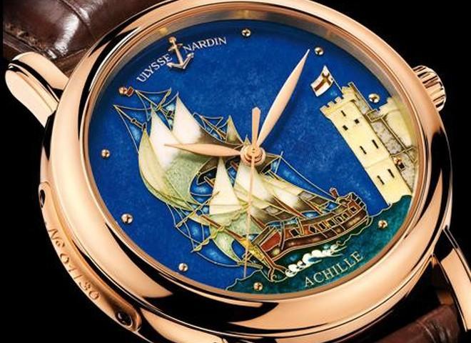 Ulysse Nardin предлагает морские шедевры