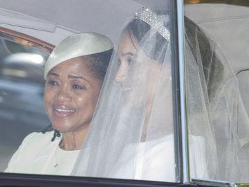 Меган Маркл у весільній сукні