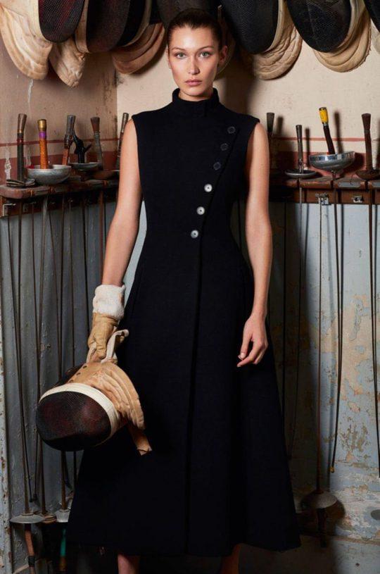 Да будет спорт: Белла Хадид в новой фотосесии для Vogue