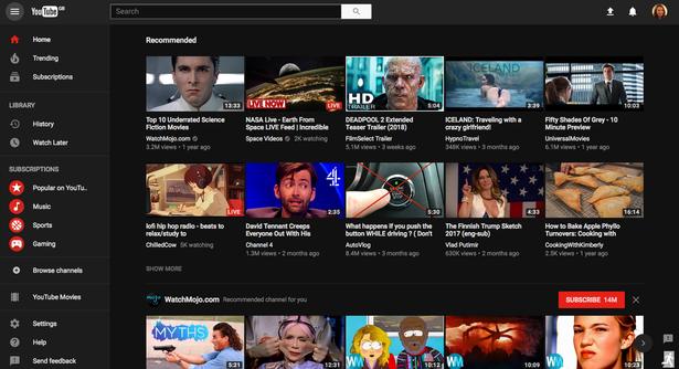 """Актуальные новости: Youtube добавил новинку в дизайне – """"ночной режим"""""""
