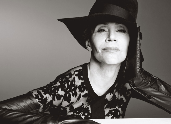 Джейн Фонда для W Magazine