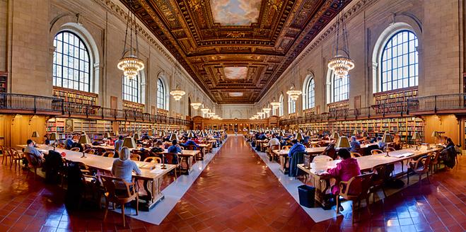 Нью-Йорк с Кэрри Бредшоу: Нью-Йоркская публичная библиотека