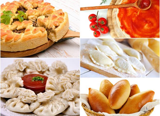 Пісне меню: рецепти страв з тіста