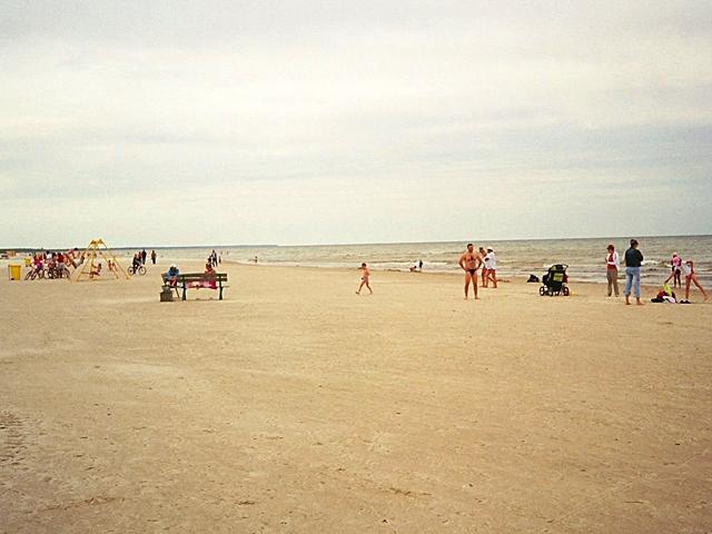 Лучшие пляжи Балтийского моря: Лиепайский пляж, Латвия