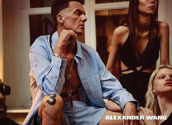 Страшная мода: солист группы Die Antwoord стал рекламным лицом модного дома