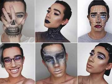 Молодий хлопець став обличчям жіночої косметики