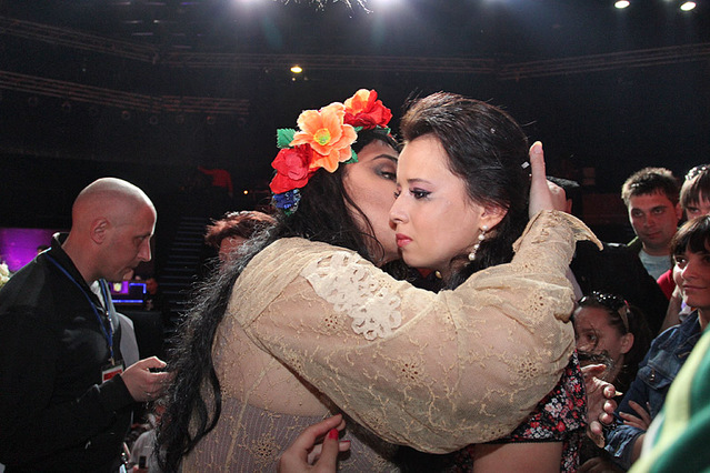 Народная звезда: закулисье. 23.04.2011