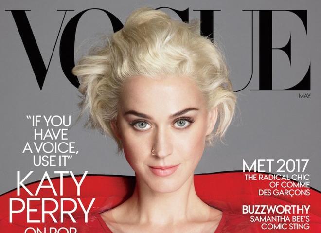 Кеті Перрі на обкладинці Vogue