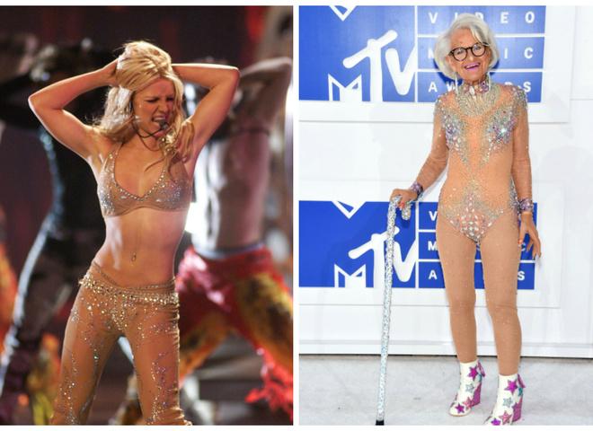 88 річна зірка червоної доріжки MTV Video Music Awards 2016