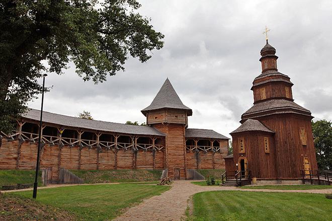 5 казацких достопримечательностей Украины