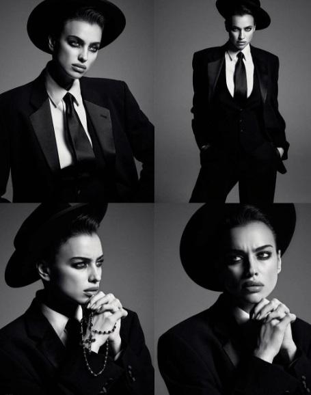 Ірина Шейк для Vogue Russia