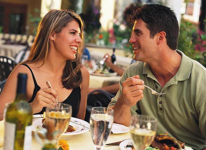 Свидание в ресторане