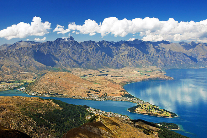 The Remarkables mountains