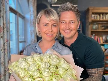 Олександр Педан з дружиною