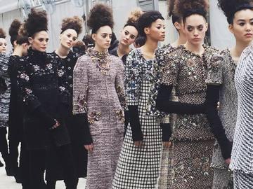 Показ Chanel Haute Couture осень-зима 2016/2017