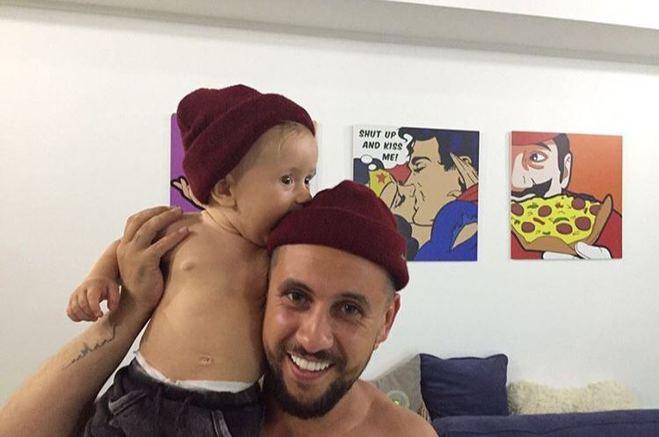 MONATIK со старшим сыном